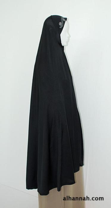 Extra Long Al Amira Style Khimar ni153