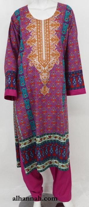 Zahrah Salwar Kameez - Premium Cotton sk1230