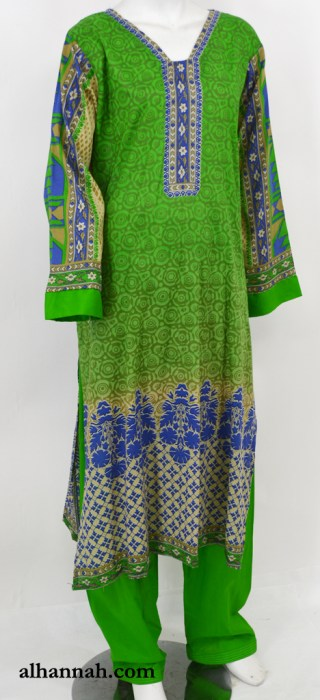 Ruwaydah Salwar Kameez - Premium Lawn Cotton sk1234