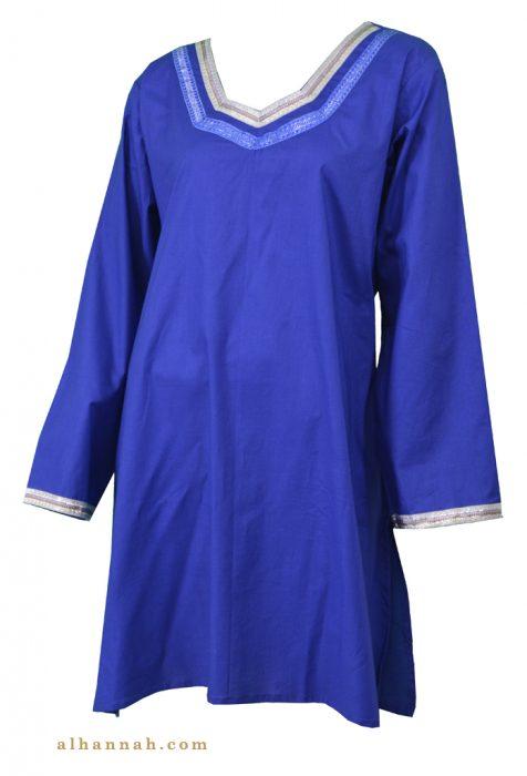 Asma Cotton Kurta Tunic Top st591