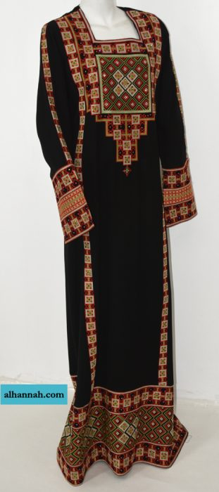 Rashida Embroidered Palestinian Fellaha Thobe th762