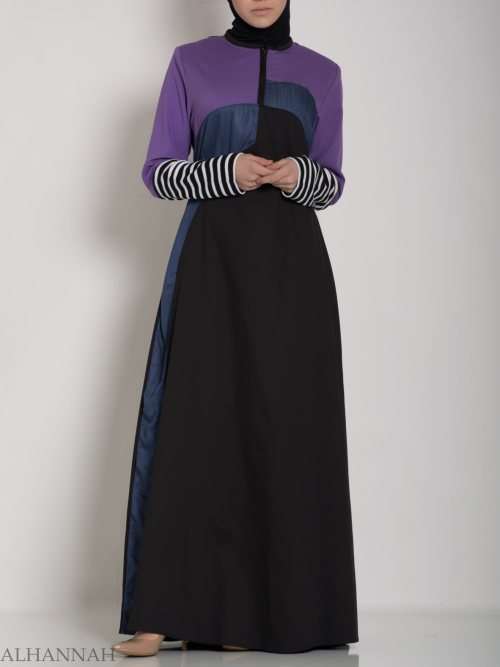 Abaya Sport Style with Pattern ab660 (9)