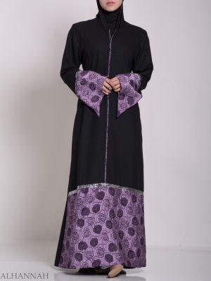 Abaya clásico jordana con acabado satinado ab635 (9)