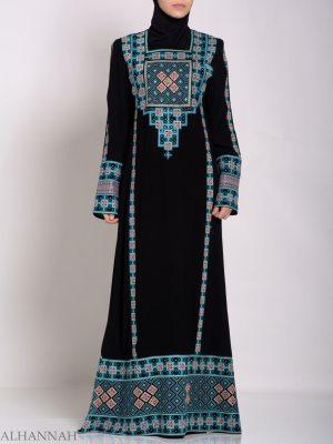 Faizah bordado palestino Fellaha Thobe th764 (5)