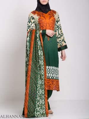 Maysa Salwar Kameez - Premium Lawn Cotton sk1235 (2)