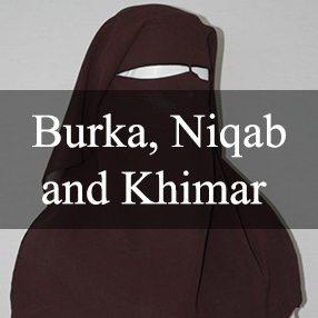 Burka, Niqab and Khimar