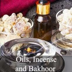 Aceites árabes, incienso y Bakhoor
