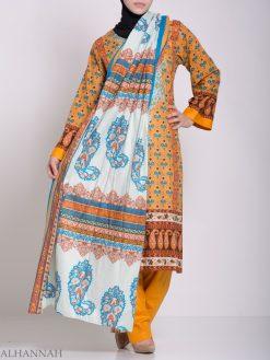 Zahrah Salwar Kameez - Premium Cotton sk1230 (1)
