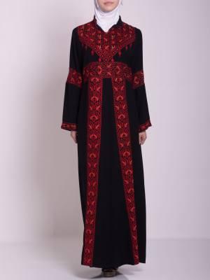 Zainab Bordado Vestido Fellaha palestino th760 (11)