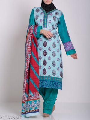 Zaynab Salwar Kameez - Algodón Premium sk1221 (9)