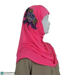 Amira Hijab Flower Applique