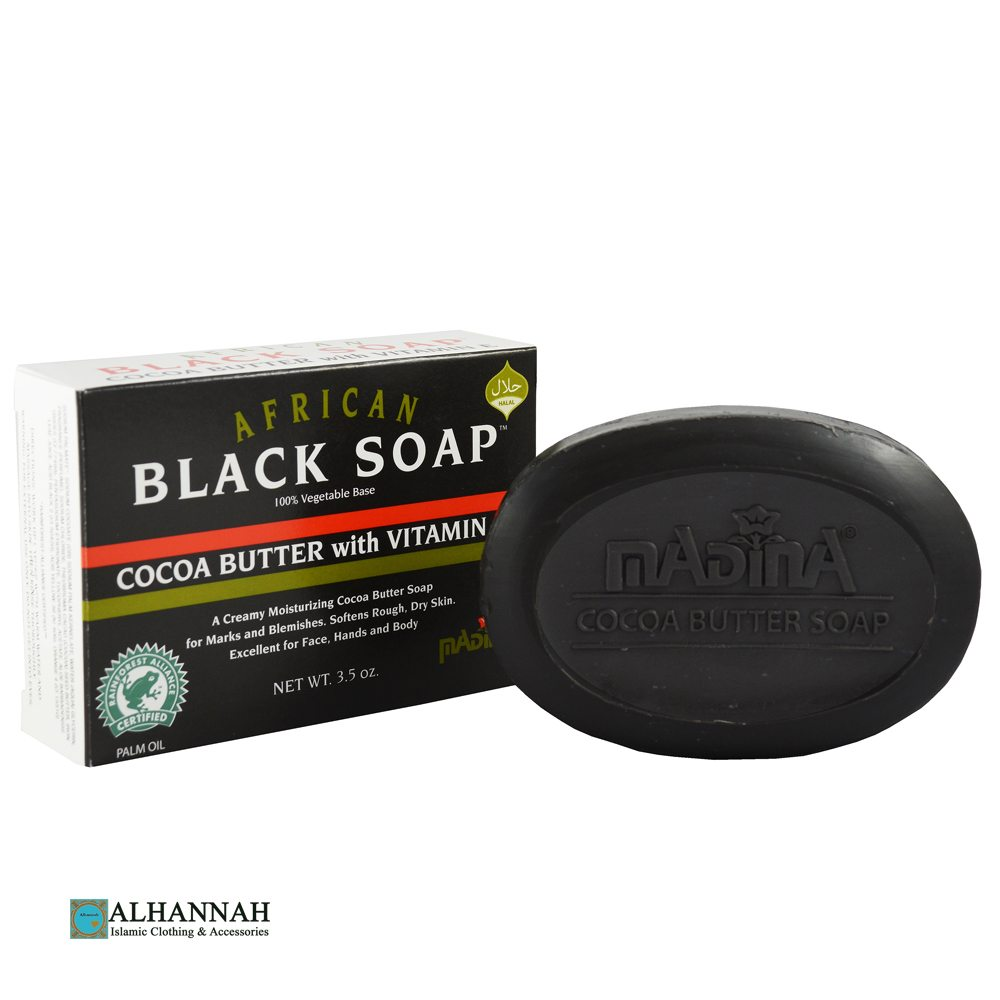 Black Soap with Coco Butter and Vitamin E