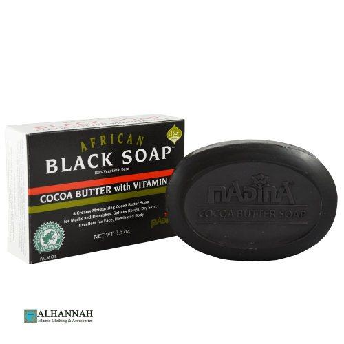Black Soap with Coco Butter and Vitamin E