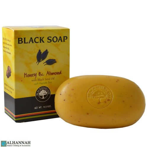halal honey and almond soap