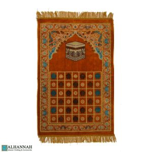 Islamic Prayer Rug Kabba