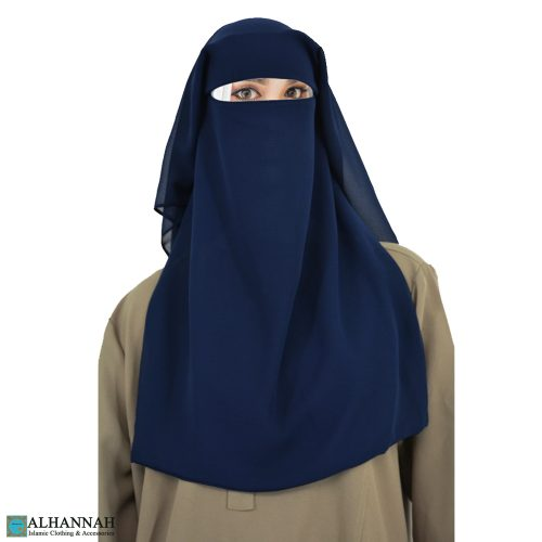 Photo of Saudi Niqab without nose string