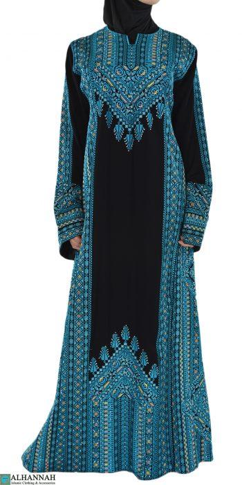 Blue Fallah Dress Front Shot