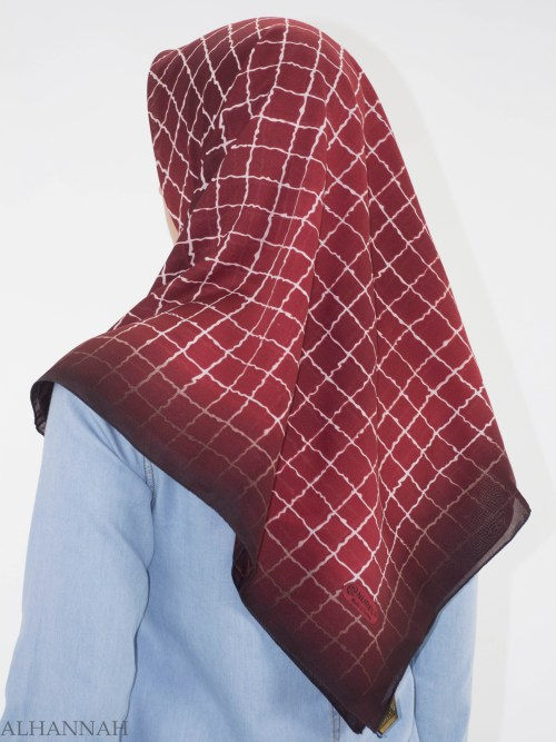 Checkered Square Hijab HI2149 (22)