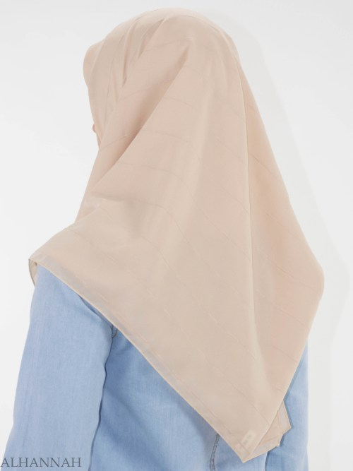 Pleated Square Hijab HI2147 (2)