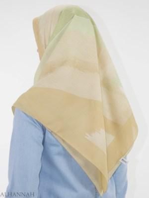 Arena, ondulaciones, cuadrado, Hijab, HI2144, (9)