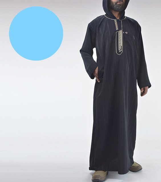 Mens-Muslim-Islamic-Clothing-hooded-Moroccan-Thobe-special-value12518