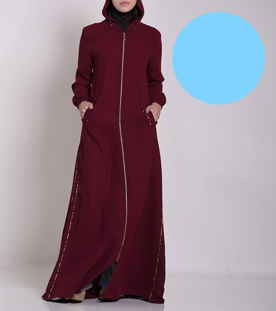 Womens-Muslim-Islamic-Clothing-gorgeous-floral-Abaya-special-value12518