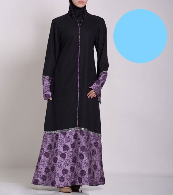 Womens-gorgeous-floral-Abaya-special-value11618