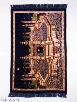 Al-Haram Mosque Motif Large Prayer Rug ii1157