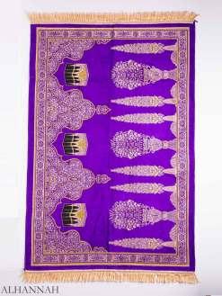Floral Pillars Kaaba Motif Large Prayer Rug ii1159