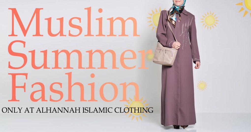 Moda musulmana de verano solo en Alhannah Islamic Clothing