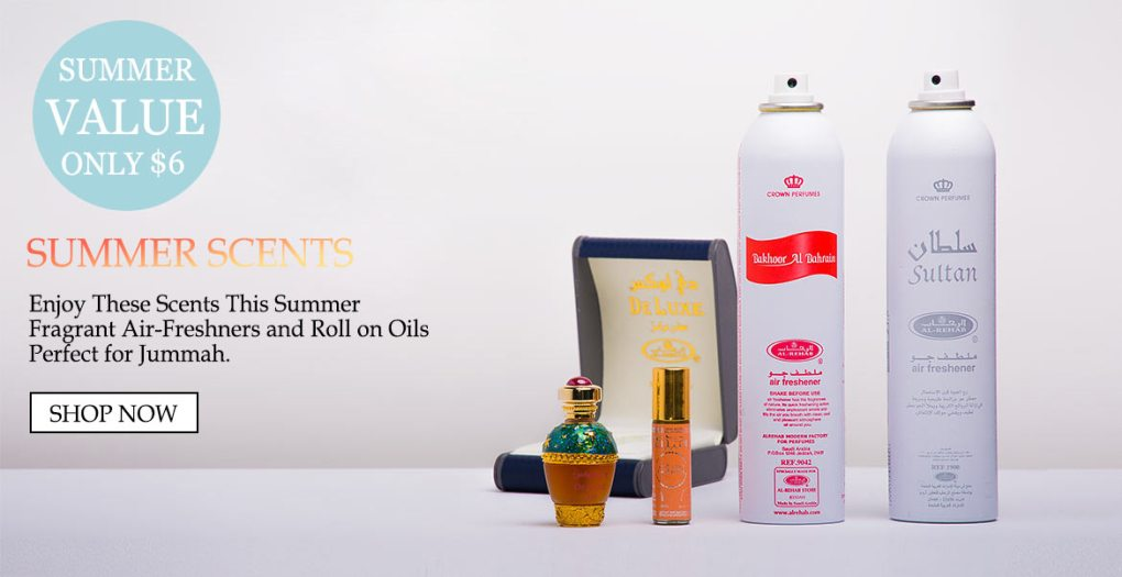 Summer Special Scents Air Freshners y Oil - Only $ 6 Summer Scents, disfruta de estos aromas este verano, fragante Air-Freshners y aceites roll-on, Perfect for Jummah Compra ahora