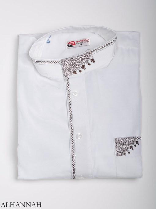 Zari Embroidered Pocketed Salwar Kameez me787 (11)
