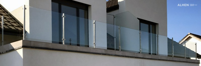 balustrady szklane poznań