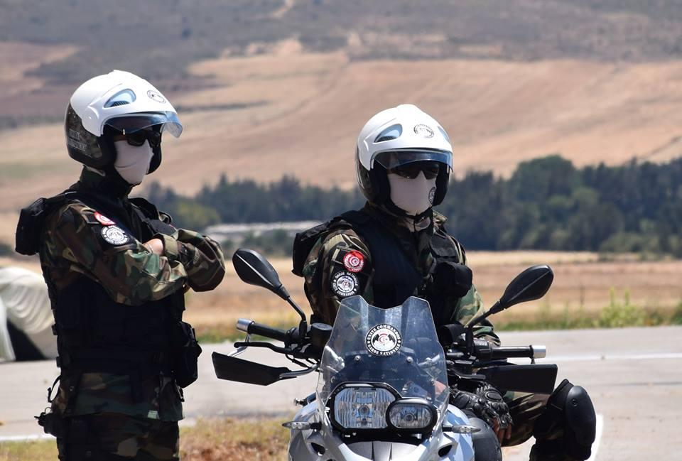 الحرس الوطني ببنزرت ينفذ حملة رقابية كبرى على مستوى الطريق الوطنية عدد 11