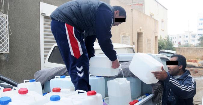 وزارة الصحة تعلن عن رصد مخاطر صحية متصلة بنقل مياه الشرب