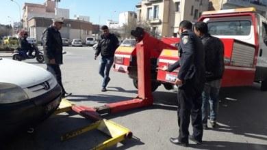 Photo of مصلحة شرطة المرور ببنزرت تتصدى لظاهرة إكتساح الأرصفة