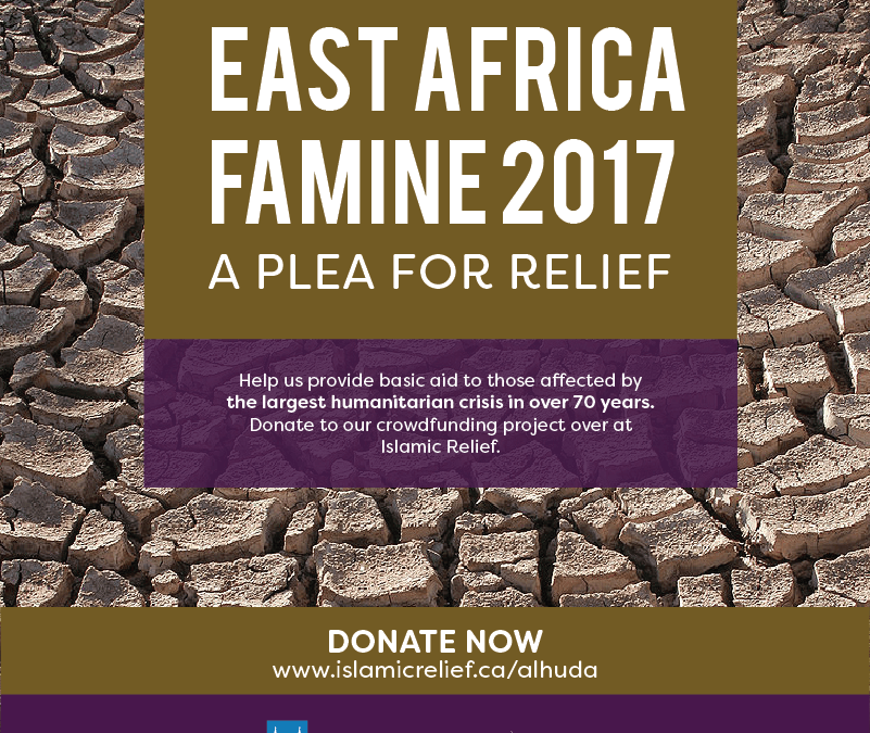 East Africa Famine GOAL REACHED and SURPASSED!