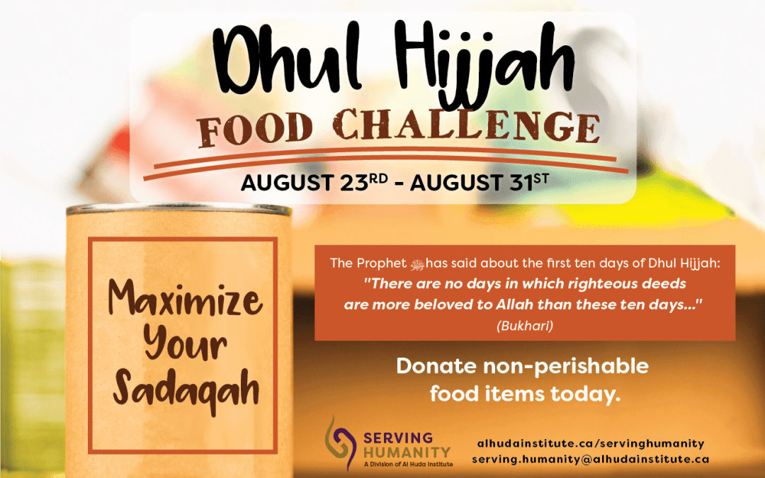 Dhul Hijjah Food Challenge Starts Now!