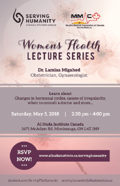 Women's Health Lecture Series 2018