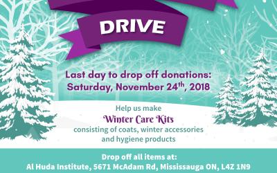 Winter Care Drive 2018 Update