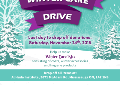 Winter Care Drive 2018