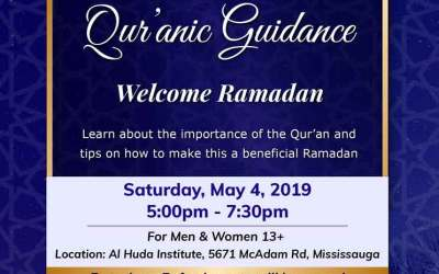 Welcome Ramadan – in ASL