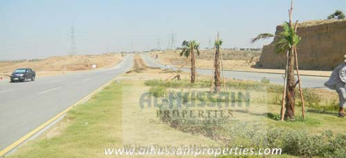 DHA Islamabad Phase 5 Sector A, Boulevard Corner