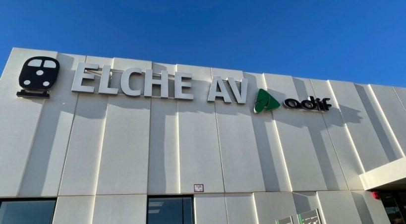 Elche se une con Madrid a través de la Alta Velocidad desde el 1 de febrero