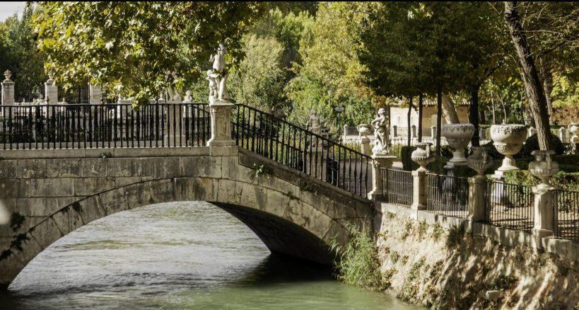 Patrimonio Nacional reabrió el pasado sábado 6 de marzo, el Jardín de la Isla de Aranjuez tras la borrasca Filomena
