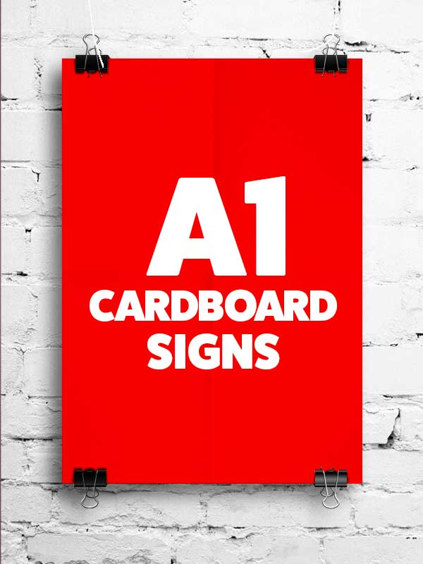 A1-cardboard-advertising-poster-printing-Ireland