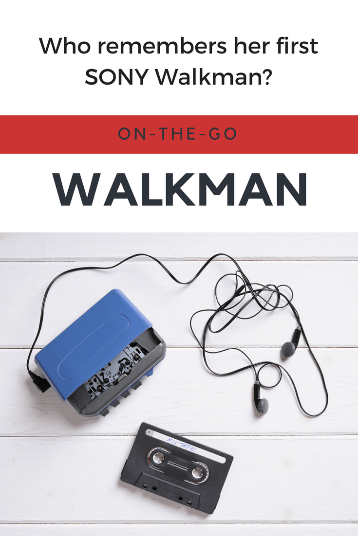 Xennial Woman: do you Remember Your First Walkman?