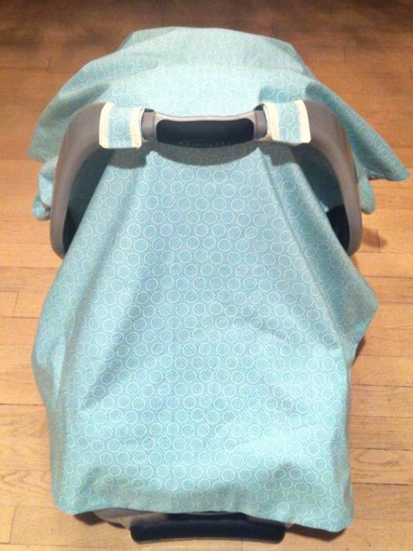 Car Seat Canopy Cover Pattern Tutorial Ali Brugman Blog