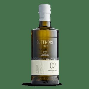 El Tendre Extra Virgen Olijfolie 0.5L Glas