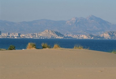 Playa de Urbanova.